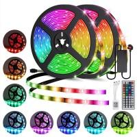Remote Control Color Changing LED Strip Light Complete Kit