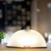 The Magical Rechargeable Book Shape Folding LED Lamp