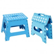 Pack Of 2 Best Quality Plastic Folding Step Stool For Indoor And Outdoor Use