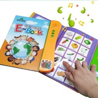 Touch to Speak 9-12 Pages Kids Learning Educational E-Book