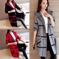 Lollipop Burberry Style Long Coat For Women