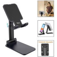 Fully Adjustable and Foldable Cell Phone and Tablet Holder