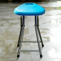 High-quality Plastic Folding Stool With Handle For Indoor and Outdoor Use  - Prayer Folding Stool