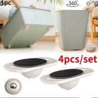 4Pcs Set Adhesive Swivel Casters Universal Furniture Steel Ball Wheel Castor Roller ( 8 PCS RS 1399 | 12 PCS RS 1699)