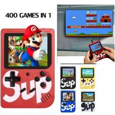 Sup X Game Box 400 Game in 1 Console With TV Connection