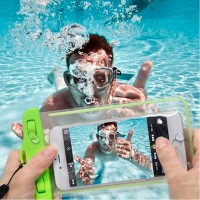 Pack of 2 High Quality Waterproof Mobile Phone Pouch